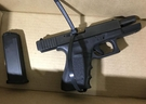 A handgun was seized in connection with last month's deadly shooting of Koshin Yusuf, 26, during the execution of search warrants on Wednesday, Jan. 15, 2020. (Toronto Police handout)
