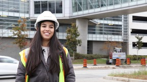 More young people are needed to join the skilled trades as well as construction management, especially women.