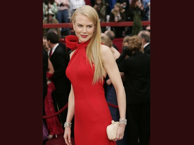 Actress Nicole Kidman arrives at the 79th Academy Awards in Hollywood, California on February 25, 2007.
