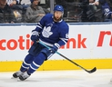 Maple Leafs defenceman Jake Muzzin has missed a month of action with a broken foot. (Claus Andersen/Getty Images)