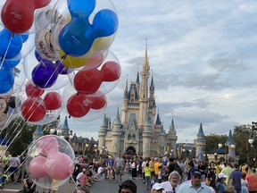No visit to Disney's Magic Kingdom is complete without a look at Cinderella's Castle. (IAN SHANTZ/TORONTO SUN)