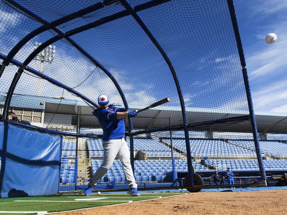 Blue Jays flock to Florida for winter work