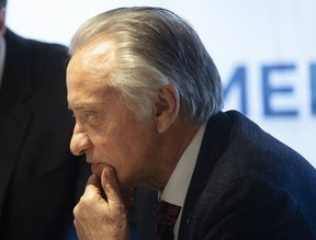 Postmedia Chair Paul Godfrey is pictured on  Feb. 12, 2020.