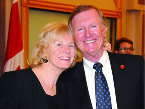 Jeannette and Bob Runciman are seen in this 2010 file photo.