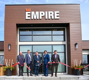 On Monday, Feb. 24, Empire Communities held a ribbon cutting ceremony to mark the launch of its Livingston community of bungalows and two-story detached homes in Hagersville, Ont.