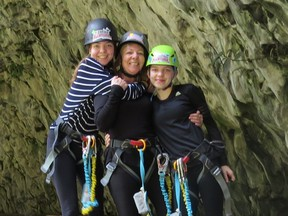 Susan Parsons was travelling with her daughters, Gabrielle, 16, and Adelaide, 14, in Ecuador when COVID-19 upgraded to a pandemic. The family arrived in Ecuador on March 11 and was stranded there until Wednesday, when they were able to find a connecting flight on United Airlines from Quito to Houston and finally back to Toronto. The family is now quarantining for 14 days. SUPPLIED