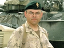 Charles Jansen, serving as a Major in the Canadian Forces in Kandahar, Afghanistan