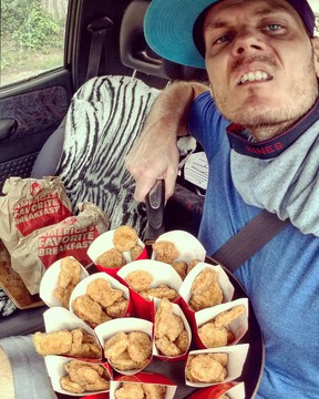 A man went on a two-state quest to score free Wendy's chicken nuggets.