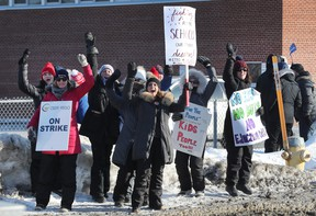 Teachers from several schools walked the picket lines in Ottawa this winter, the first mass walkouts since 1997. Ontario teachers and the province ratified a new three-year deal on Tuesday.