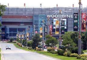 """Woodbine Racetrack head Jim Lawson hopes live racing will resume in about """"six weeks."""""""