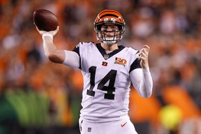 Andy Dalton signed with Dallas after being released by Cincinnati last week.