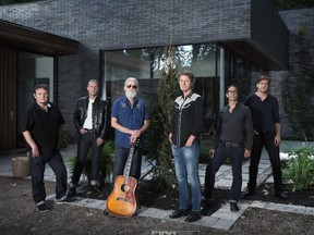 Blue Rodeo is one of the bands featured in the Budweiser Stage At Home series.