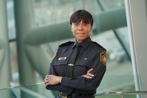 Ingrid Berkeley-Brown retired Thursday as Peel Police's deputy chief after 34 years of policing.
