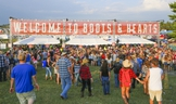 Country music fans of all ages converged at the Boots and Hearts Music Festival in Bowmanville, Ont. on Thursday July 31, 2014. This year's concerts have been cancelled.