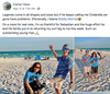 A teenager didn't find lost treasure during a hunt, but what he discovered was worth its weight in gold for one man.  A Florida man had lost his prosthetic leg while surfing last month and figured it was lost forever after failing to locate it during an ensuing two-day search.