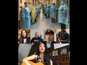 Brampton City Councillors Rowena Santos and Paul Vicente spearheaded an uplifting video posted on YouTube that features an assortment of local residents dealing with isolation during the COVID-19 pandemic.