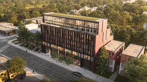 1414 Bayview is an eight-storey luxury mid-rise condo project that will contain 44 units consisting of one, two- and-three-bedroom suites and first-floor retail fronting on Bayview Ave.