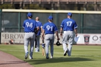 The Blue Jays shut down their facility in Dunedin, Fla., yesterday after a player showed coronavirus symptoms.
