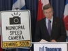 Toronto Mayor John Tory speaks to media at a press conference announcing the July 6 beginning of Toronto's automated speed enforcement program on Friday, June 26 2020.