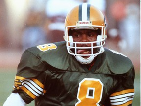 Eskimos' Tracy Ham was only his in rookie year when he was asked to take a pay cut during the 1987 season.