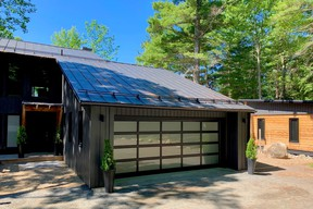 Who new that a garage door could be quite so transformative?