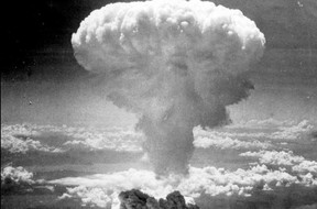 The atomic age begins with the horrific bombing of Hiroshima on Aug. 6, 1945. US Air Force