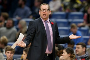 Raptors head coach Nick Nurse said he is going to spread the minutes around in the final two practice games.