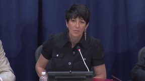 Ghislaine Maxwell wouldn't let the FBI in and fled to another room when they kicked in the door of her home, prosecutors claimed.
