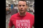 A man not wearing a face mask yells at being filmed at a Florida Costco.