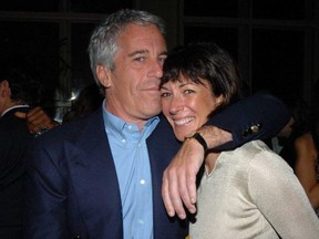 Jeffrey Epstein and the socialite accused of being his sexual procurer, Ghislaine Maxwell.
