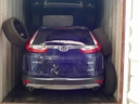 A stolen Honda CRV in a container is seen in an image released by York Regional Police.