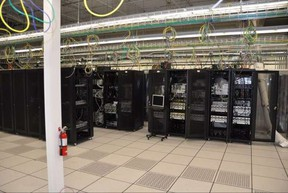 YesUp Media's massive server that pumped out child pornography to perverts around the planet.