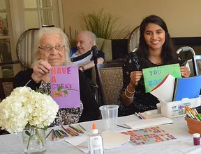 Seniors with Skills was founded by Jaya Manjunath to help seniors combat social isolation.