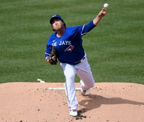 After his two outings with the Jays, Hyun-Jin Ryu's ERA now sits at 8.00, a far cry from the 2.32 mark he fashioned in a 2019 campaign with the Los Angeles Dodgers, the form that earned him the starting assignment in the all-star game. Getty Images