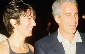 Jeffrey Epstein, right, and his alleged 'pimp' Ghislaine Maxwell.