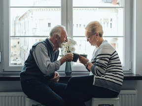 A wife has had enough with being the sole caregiver of her husband who suffers from dementia.