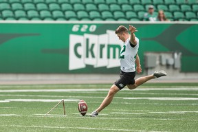 Saskatchewan Roughriders kicker Brett Lauther, for one, feels a six-game schedule in one bubble city, would be an interesting concept.