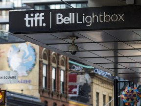 TIFF Bell Lightbox -- on King St. W. -- is pictured on Sept. 3, 2020.