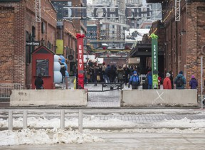 Toronto Christmas Market at the Distillery Historic District in Toronto, Ont. on Wednesday December 21, 2016.