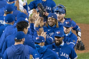 The Blue Jays have booked their spot in the post-season, but in any other year they likely would have been cleaning out their lockers, writes Steve Simmons.
