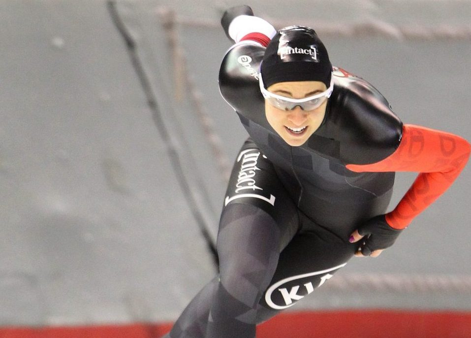 Rempel takes big step for women in Canadian speed skating