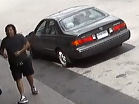 Investigators need help identifying this man, who is suspected of a fail to remain accident that injured a woman, 78, in Mississauga on Monday, July 20, 2020.