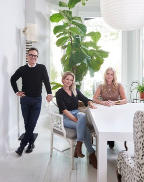 Colin and Justin recently caught up with Tommy Smythe to chat about TOM Interior Design Studio, the consultancy he recently launched with Kate Stuart and Lindsay Mens Craig,