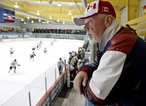 Don Cherry at Iceland in Mississauga, October 2, 2008.