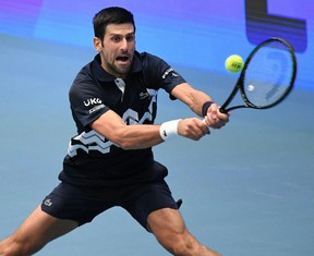 Serbia's Novak Djokovic will look to bounce back from some demoralizing defeats this year. Getty Images