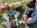 Nerissa MacLean is pictured at the grave of her son, Seth, 31, who died of an overdose. No one told her about his death or burial in a Pickering potter's field.