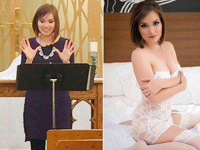 """From pastor to porn star. Former minister Nikole Mitchell feels her """"whole self"""" now that she's stripping on OnlyFans."""