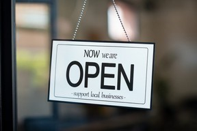 Reopening of a small business during COVID-19.