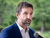 Environmentalist Steven Guilbeault announces his candidacy for the Liberal Party of Canada for the fall elections in Montreal on June 21, 2019.