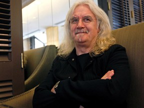 Comedian Billy Connolly poses for a photo in Toronto.
